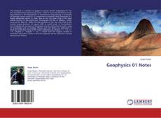 Buchcover von Geophysics 01 Notes