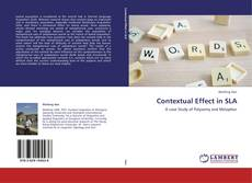 Contextual Effect in SLA kitap kapağı