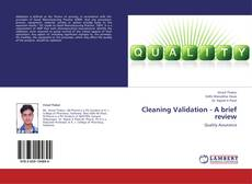 Capa do livro de Cleaning Validation - A brief review