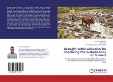 Buchcover von Draught cattle valuation for improving the sustainability of farmers