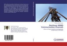 Buchcover von Nonlinear MIMO Communication Channels