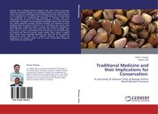 Buchcover von Traditional Medicine and their Implications for Conservation
