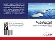 Capa do livro de Debating Transitional Justice in Morocco