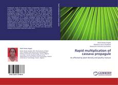 Обложка Rapid multiplication of cassava propagule