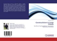 Capa do livro de Constructivism in Large Classes