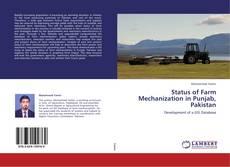 Bookcover of Status of Farm Mechanization in Punjab, Pakistan