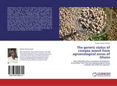 Capa do livro de The generic status of cowpea weevil from agroecological zones of Ghana