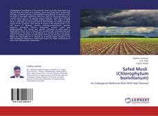 Buchcover von Safed Musli   (Chlorophytum borivilianum)