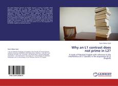 Bookcover of Why an L1 contrast does not prime in L2?
