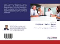 Couverture de Employee relation climate survey