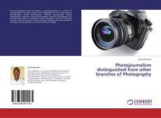 Bookcover of Photojournalism distinguished from other branches of Photography