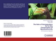 Capa do livro de The Role of Homegardens for In-Situ  Conservation of Agrobiodiversity