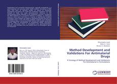 Bookcover of Method Development and Validations For Antimalarial Drugs
