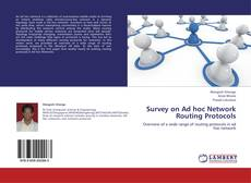 Bookcover of Survey on Ad hoc Network Routing Protocols