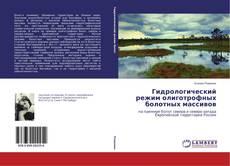 Bookcover of Гидрологический режим олиготрофных болотных массивов