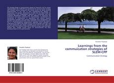 Copertina di Learnings from the commuication strategies of SLEM-CPP