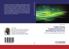 Couverture de Public Policy Implementation in Developing Countries
