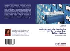 Portada del libro de Building Domain Ontologies and Automated Text Categorization