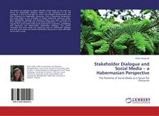 Buchcover von Stakeholder Dialogue and Social Media – a Habermasian Perspective