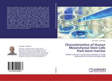 Couverture de Characterization of Human Mesenchymal Stem Cells from bone marrow