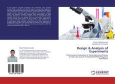 Обложка Design & Analysis of Experiments