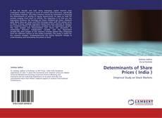 Обложка Determinants of Share Prices ( India )