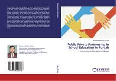 Buchcover von Public Private Partnership in School Education in Punjab