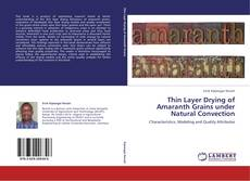Portada del libro de Thin Layer Drying of Amaranth Grains under Natural Convection