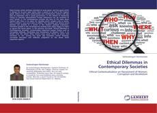 Portada del libro de Ethical Dilemmas in Contemporary Societies