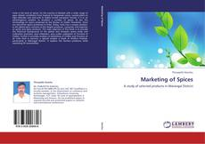 Bookcover of Marketing of Spices