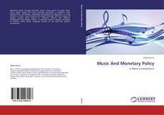 Buchcover von Music And Monetary Policy