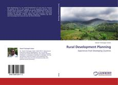 Buchcover von Rural Development Planning