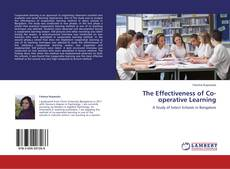 Portada del libro de The Effectiveness of Co-operative Learning
