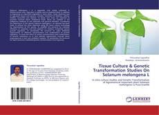 Capa do livro de Tissue Culture & Genetic Transformation Studies On Solanum melongena L