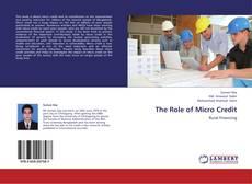 Portada del libro de The Role of Micro Credit