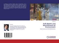 Buchcover von Folk-Beliefs and Nourishment of Environment