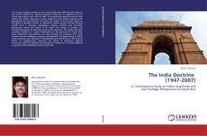 Copertina di The India Doctrine   (1947-2007)
