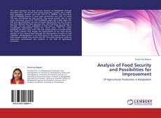 Bookcover of Analysis of Food Security and Possibilities for Improvement