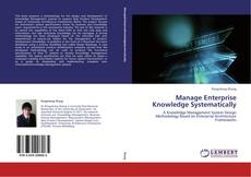 Manage Enterprise Knowledge Systematically kitap kapağı