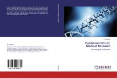 Bookcover of Fundamentals of   Medical Research