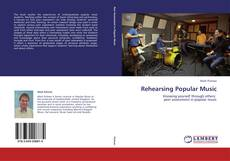 Bookcover of Rehearsing Popular Music