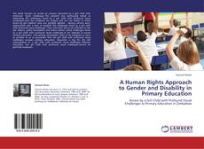 Bookcover of A Human Rights Approach to Gender and Disability in Primary Education