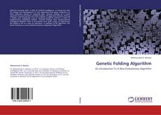 Capa do livro de Genetic Folding Algorithm