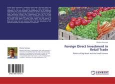 Capa do livro de Foreign Direct Investment in Retail Trade