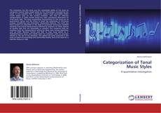 Bookcover of Categorization of Tonal Music Styles