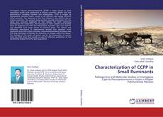 Bookcover of Characterization of CCPP in Small Ruminants