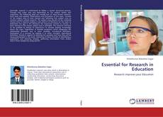 Copertina di Essential for Research in Education
