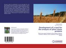 Buchcover von Development of a tool for the analysis of plant stress proteins
