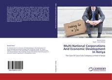 Обложка Multi-National Corporations And Economic Development In Kenya