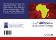 Bookcover of Constitutional Power-Sharing Democracy in Africa